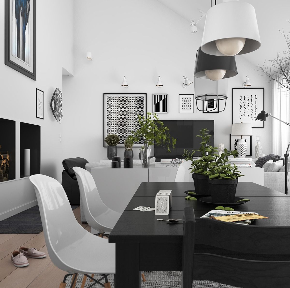 Grey And White Are Often Used As Background Or Complementary New Wall Art For A Dining Room Review