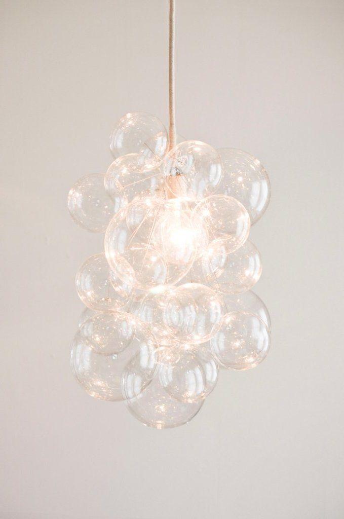 Kronleuchter selber bauen aus IKEA Lampenshirm – DIY Anleitung – bastelideen, DIY – ZENIDEEN