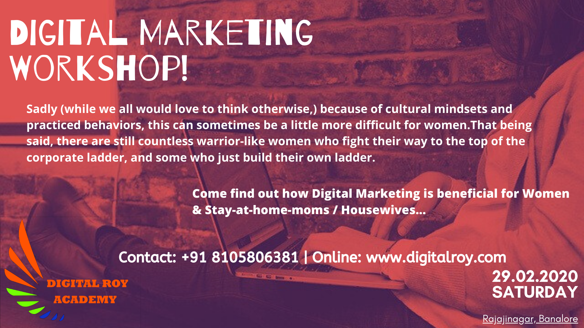 Digital Marketing in Bangalore by Digital Roy