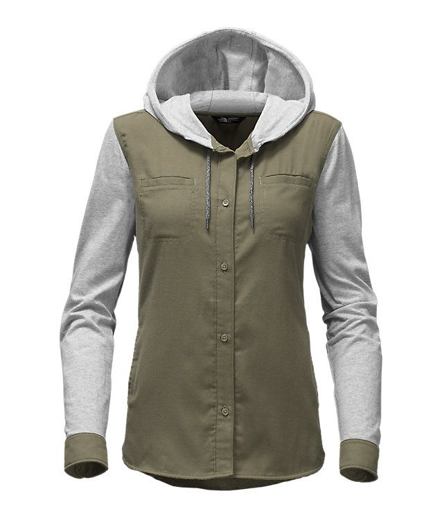 679bbece3 Women's hike-in shacket | clothes | Casual tops for women, The north ...