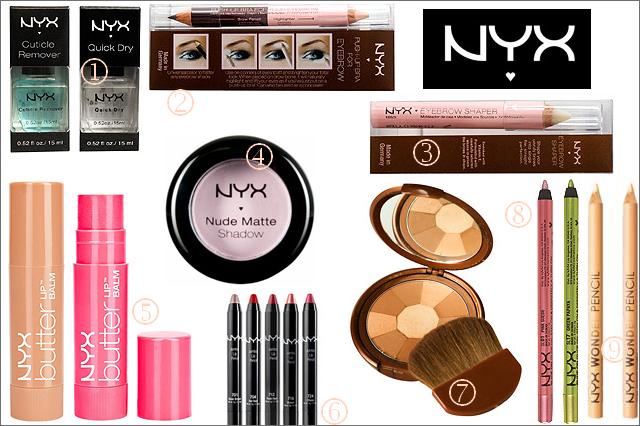 NYX Wish list 1- Nail Polish Salon - Treatment 3 $ 50 2- Eyebrow Push-Up Bra 8 $ 50 3- Eyebrow Shaper 8 $ 75 4- Nude Matte Shadow 4 $ 50 5- Butter Lip Balm 4$ 6- Jumbo Lip pencil 3 $ 50 7- Tango with Bronzer Powder 8 $ 50 8- Slide On Pencil 6 $ 50 9- Wonder Pencil 4 $ 50  #nyx #wishlist #beauty #makeup #nailcare #lipbalm #eyebrow #eyeshadow #mat #jumbo #lips #eyes #bronzer #cherryculture