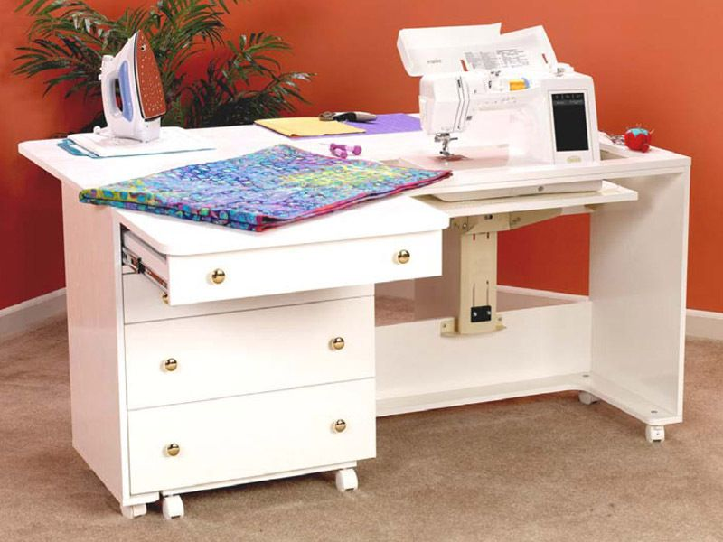 Sewing Machine Cabinets - Perfexion PXD2200W Deluxe Quilting ... : quilting tables and cabinets - Adamdwight.com
