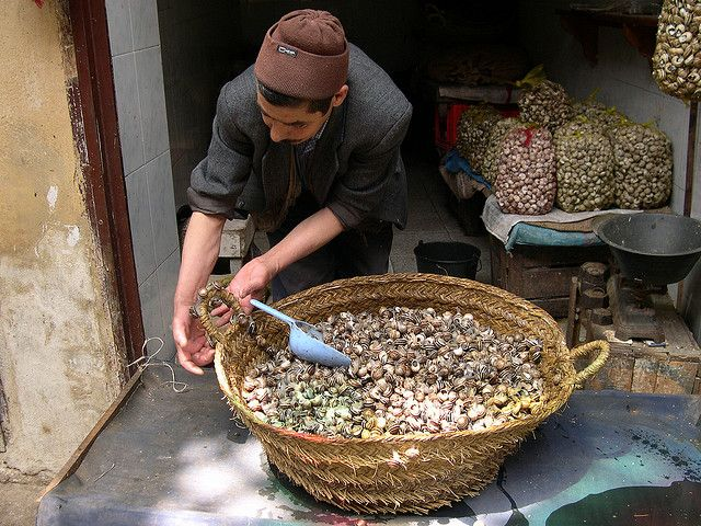 marokko,snails, via Flickr.