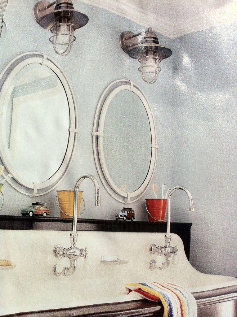 Trough sink and light fixtures for the home bathroom - Discount bathroom vanities los angeles ...