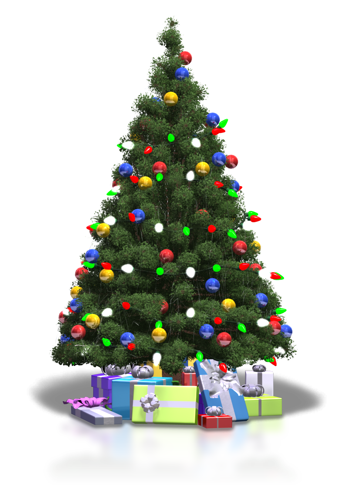 Christmas Trees Pictures Of Christmas Trees Christmas Tree Template Ribbon On Christmas Tree Christmas Tree Coloring Page