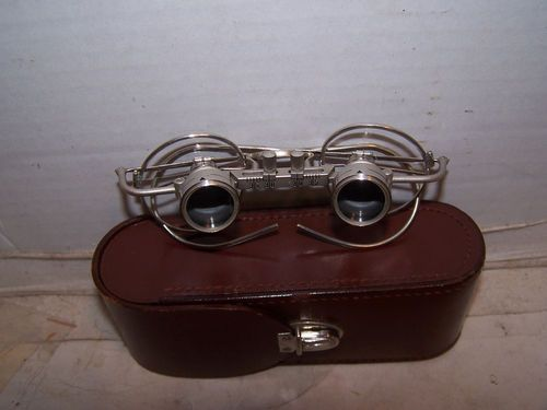 b928b4999a Antique Carl Zeiss Jena Glasses 2X Doctors Jewlers Loupe Excellent  Condition