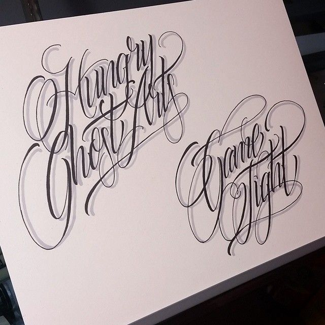 100 Tattoo Lettering Designs For Your Body Art: Tattoo Lettering Styles,Body Art