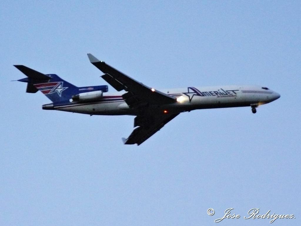 Amerijet Boeing 727 freighter