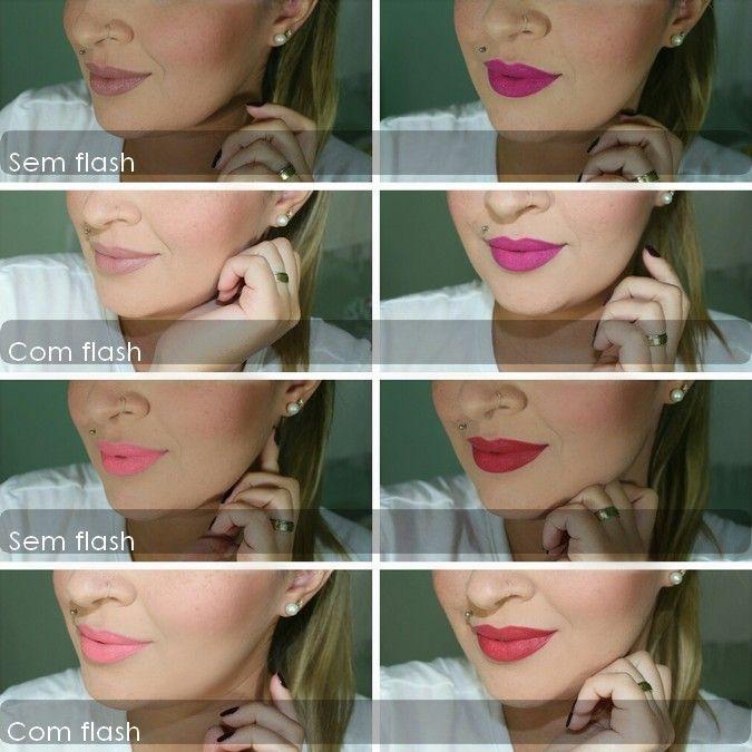 Pin de Geasa em Makeup   Batom efeito mate, Batom, Batom