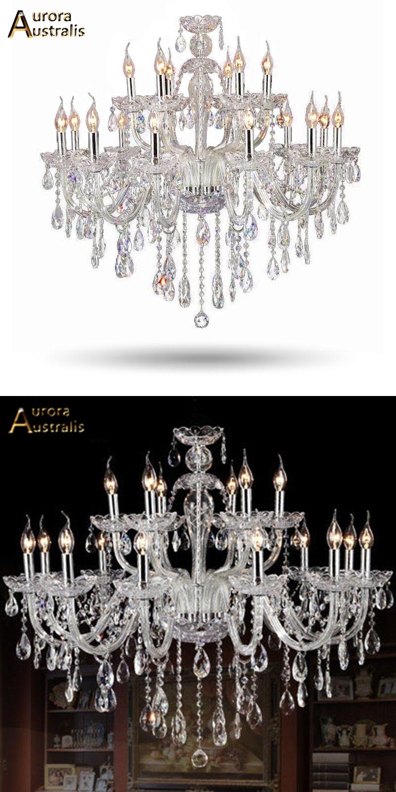 Luxus Kristall Wohnzimmer Lustre Sala De Cristal Moderne 18 Arm Leuchte  Hochzeit Dekoration Art Deco Lighting