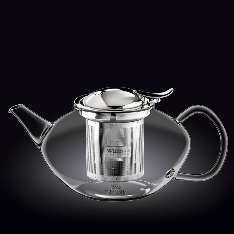 Chic Thermo 52 -oz. Stovetop Safe Glass Teapot kitchen dining from top store