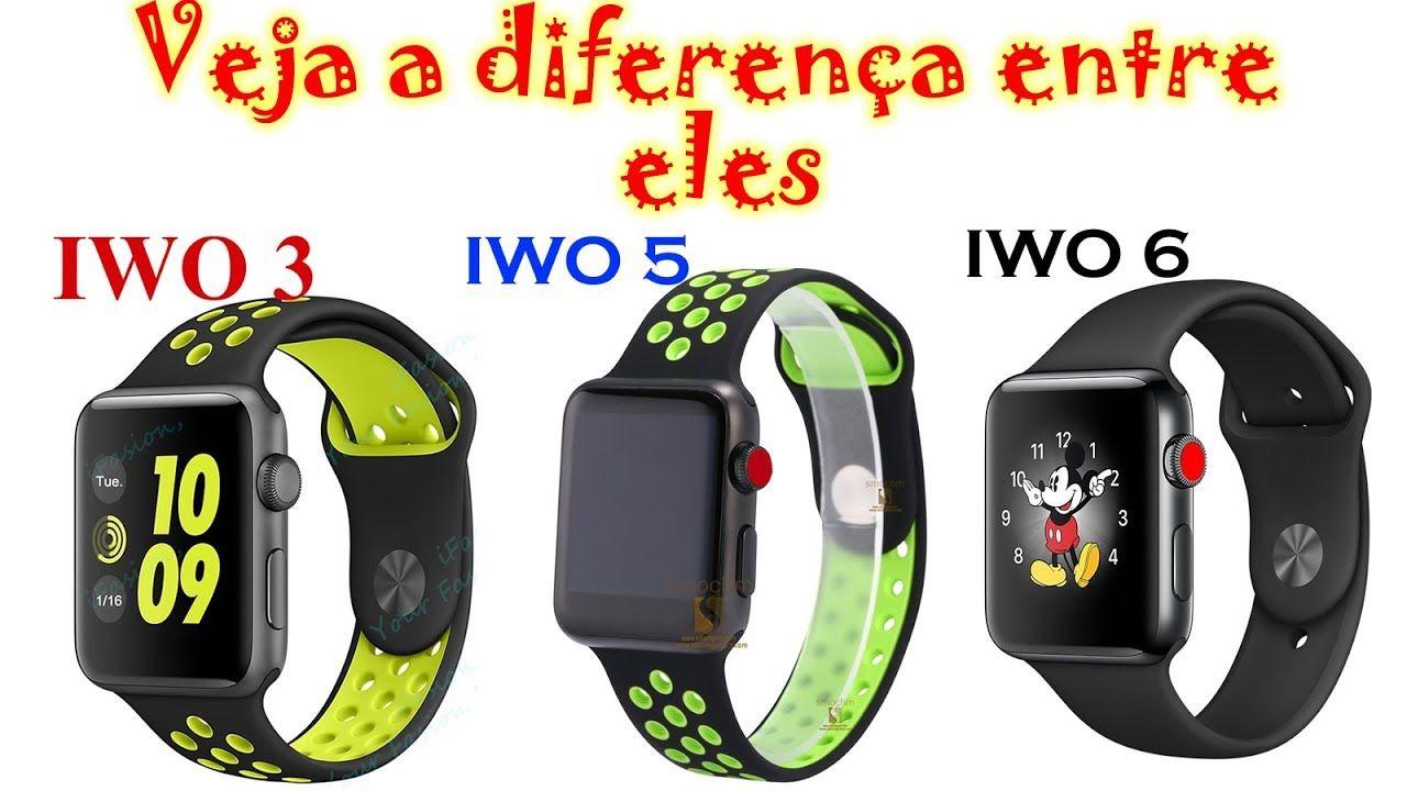 56e30250773 Qual Diferença entre smart watch IWO 3 IWO 5 e IWO 6 um breve Review ...