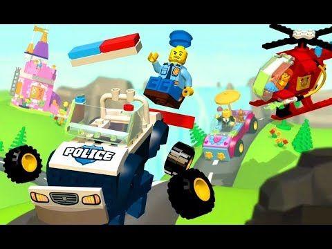 Lego Juniors Create & Cruise Police Car Gameplay Car Games Cartoon ...