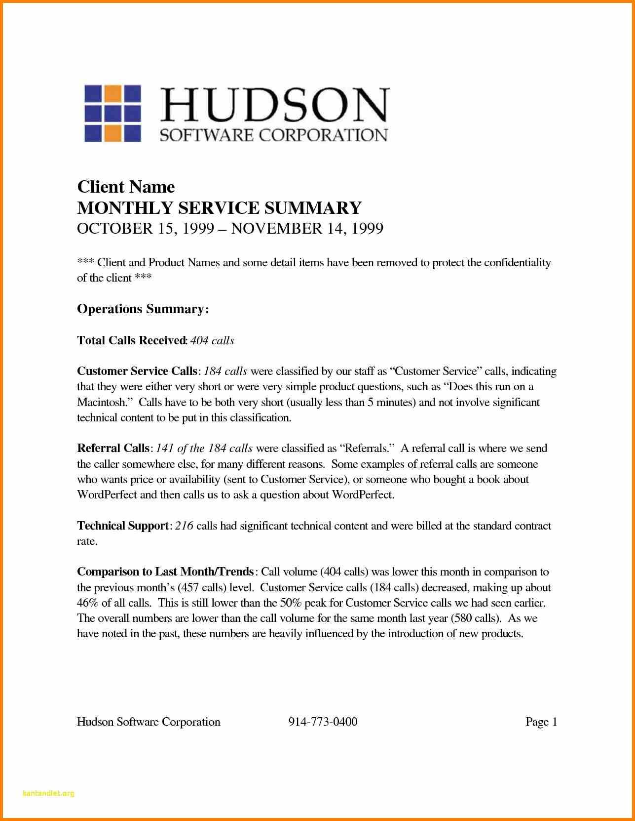 Executive Summary Report Template Word Doc Internal Audit For
