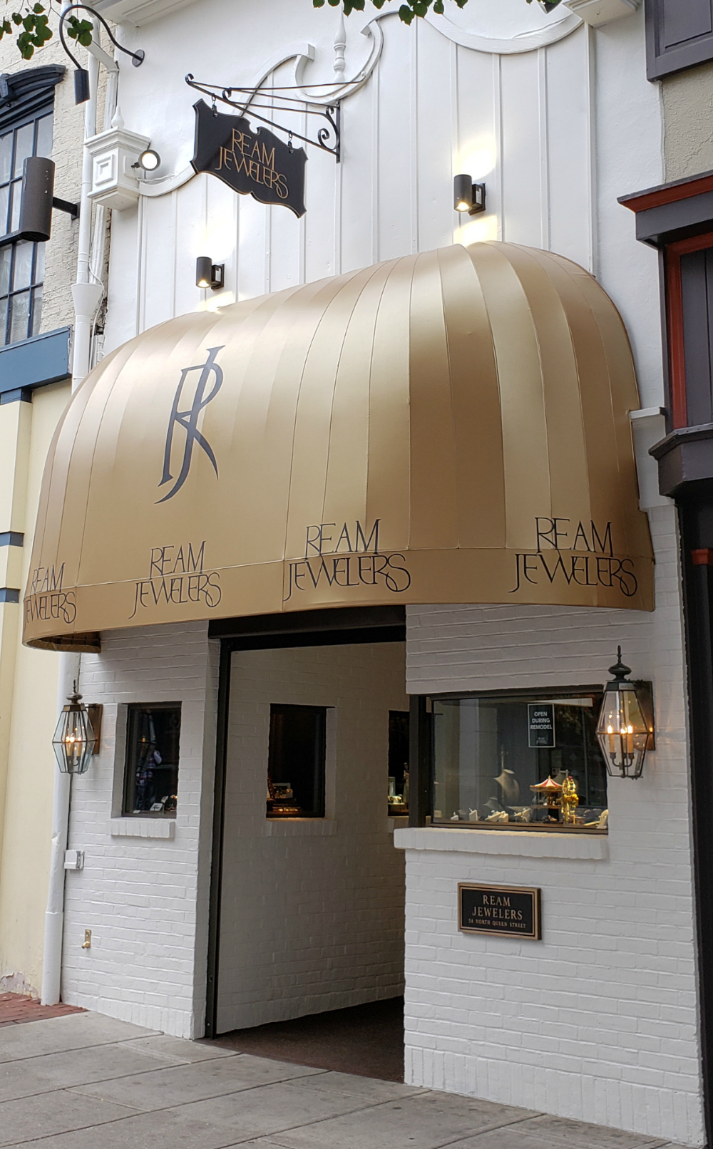Ream Jewelers Storefront Re Canvas Store Fronts Installation Jewels