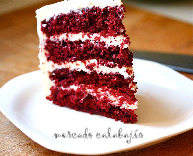 Bizcocho Red Velvet Red Velvet Cake Kuchen Ideen Sahnetorte