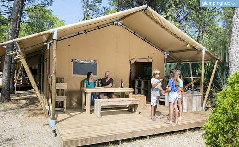 Luxury Camping Tents For Rent Near Costa Brava Spain Camping De Lujo Viajar Con Niños Vacaciones