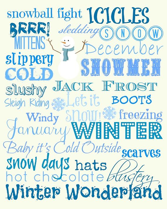 Winter subway art 8x10 holidays winter snowflake bentley winter subway art 8x10 free christmas printablesfree printablesprintable templatesprintable pronofoot35fo Image collections