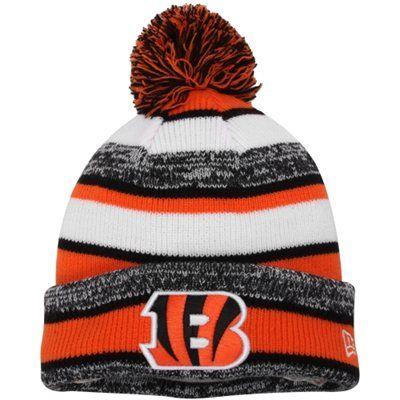 Cincinnati Bengals New Era Youth Sideline Sport Knit Hat – Orange ... af65a82ee