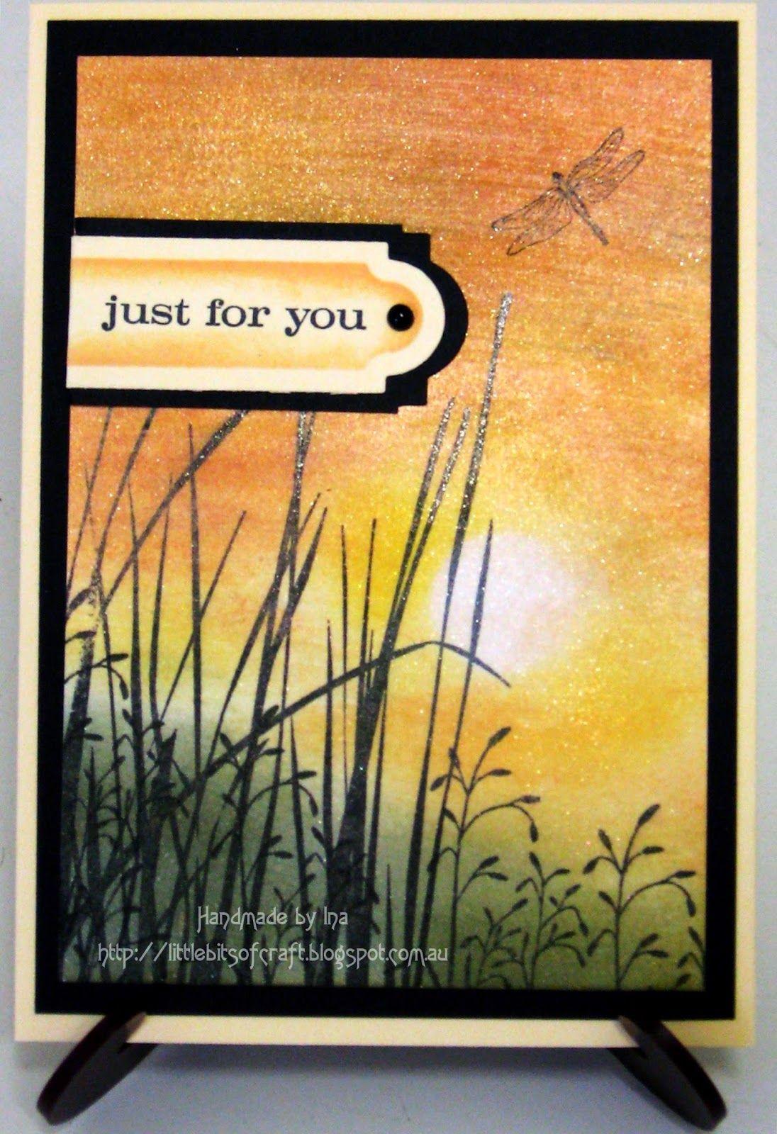 Would make a beautiful sympathy card