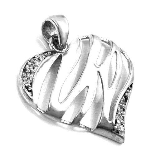Anhänger, Herz mit Zirkonia, Silber 925 Dreambase http://www.amazon.de/dp/B00L59I8MC/?m=A37R2BYHN7XPNV