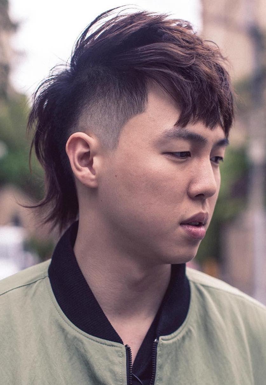 Asian Mullet In 2020 Asian Hair Men Short Hair Fade Mens Hairstyles