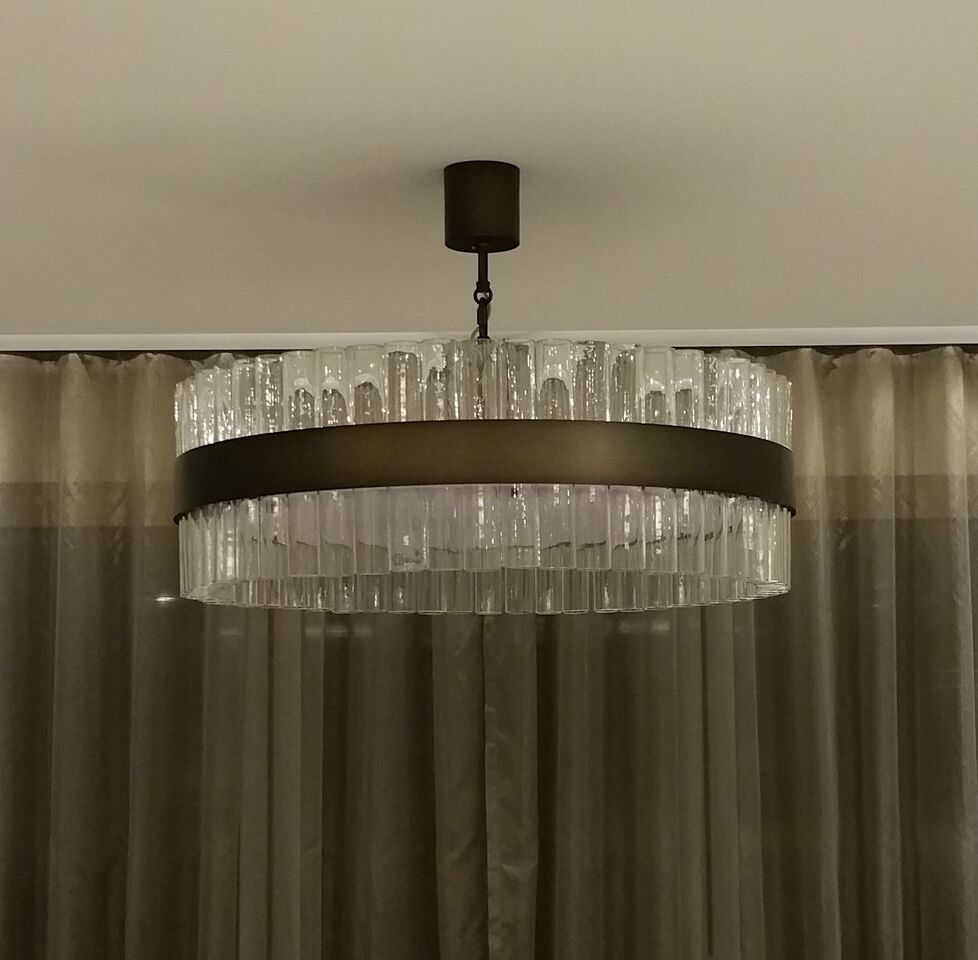 Simple refined and elegant this beautiful contemporary chandelier simple refined and elegant this beautiful contemporary chandelier can be made to any arubaitofo Images