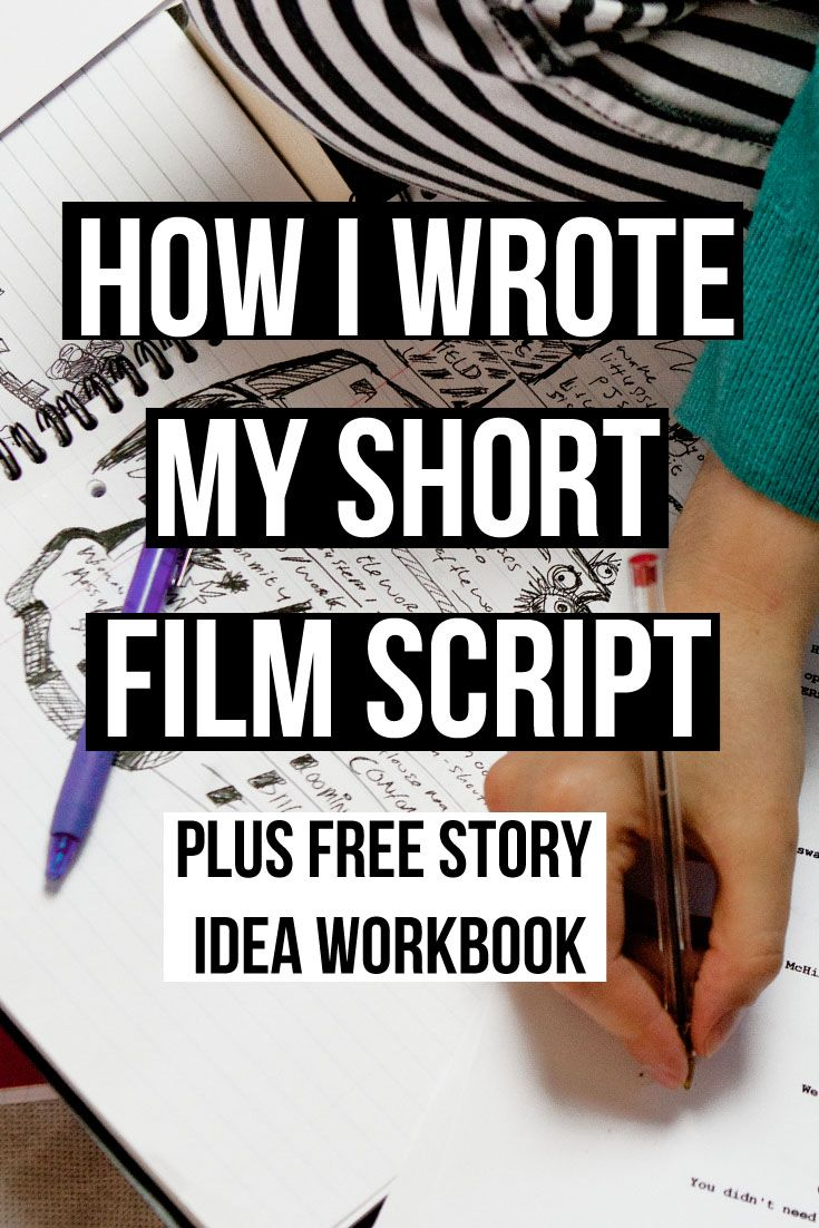 Writing My Short Film Plus Workbook Download  Short Film Scripts