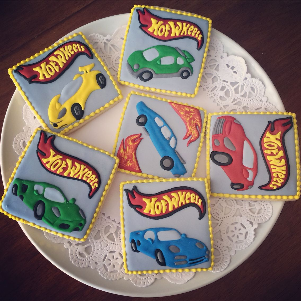Cookie decorating party ideas - Hot Wheels Cookies By Sweets By Mee Boy Birthday Partiesthird Birthdaybirthday Party Ideascookie Decoratingdecorated
