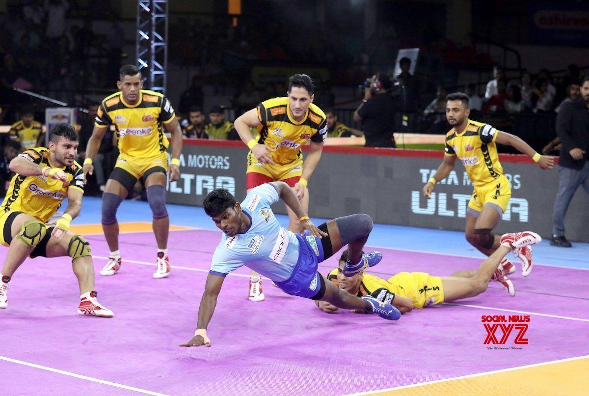 Bengaluru Pro Kabaddi Season 7 Telugu Titans v Tamil
