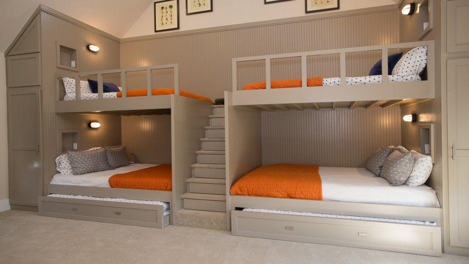Best Custom Bunk Room Designs Pictures Bunk Beds Built In 400 x 300