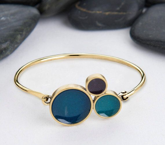 Bubbly Bracelet,  Jewelry Handmade from Sustainable Metal