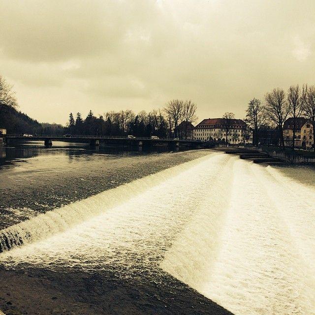 Wochenende an der Lechstufe in #Landsberg