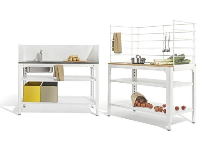 kleine Küche Stauraum Regale Metall | kitchen | Pinterest | Regal ...