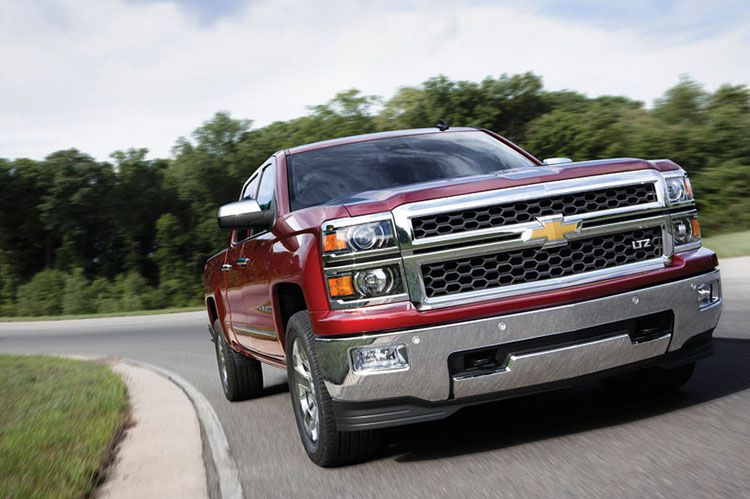 When Chevrolet Rolled Out The 2014 Silverado At The Canadian