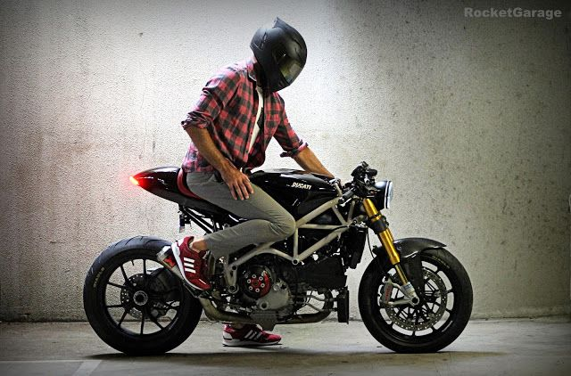 Ducati 1098 Cafe Racer By Nathan Stiles A Reader Like You He Wanted To