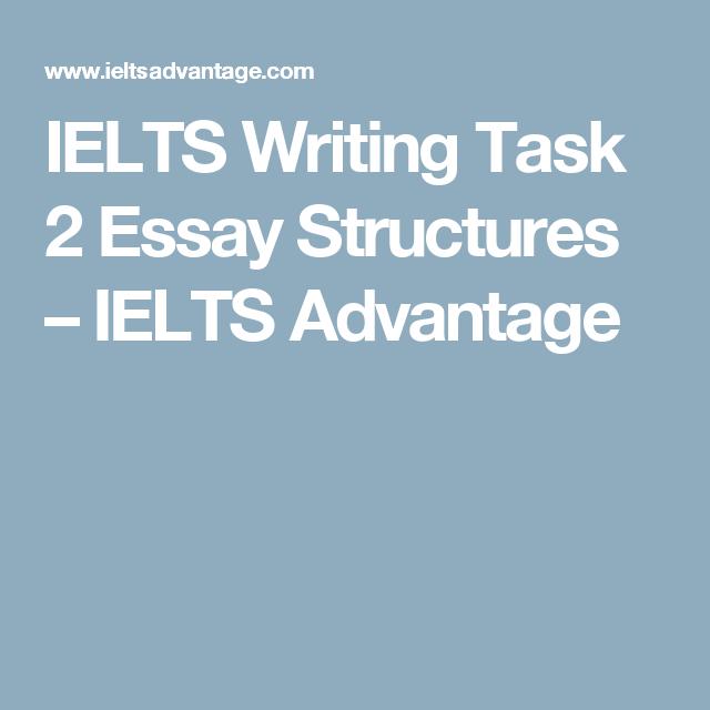 ielts writing task essay structures ielts advantage ielts ielts writing task 2 essay structures ielts advantage