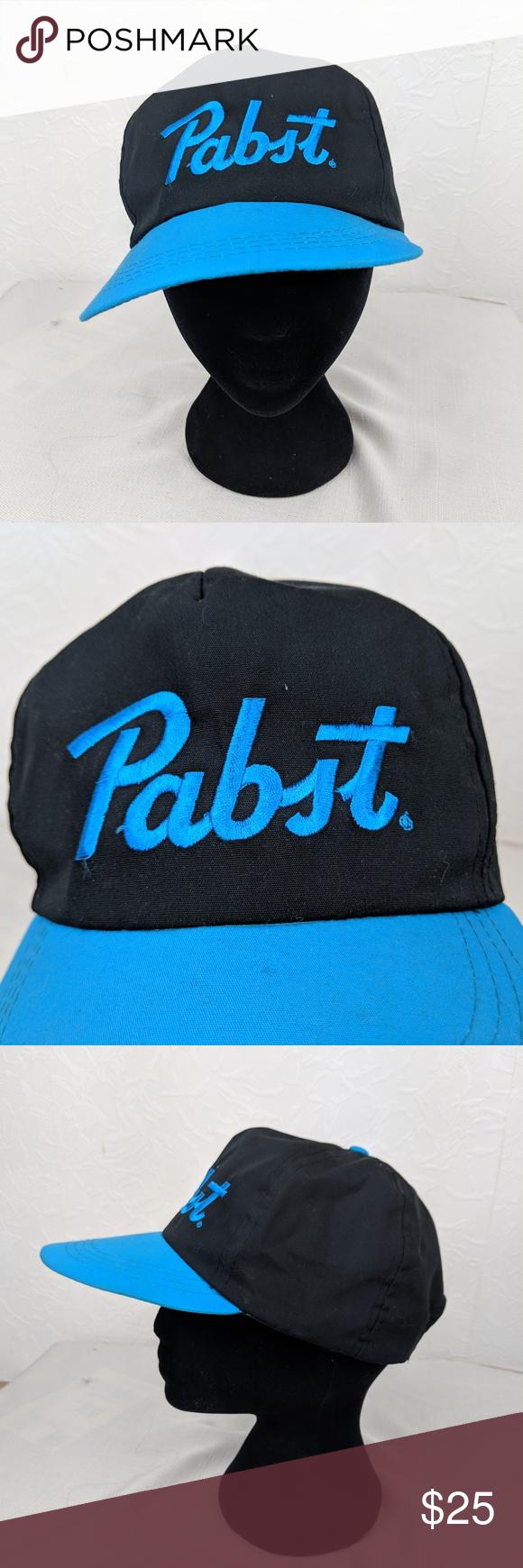 e741a746639 PABST Beer PBR Snap Back Hat PABST Beer PBR Snap Back Hat Good