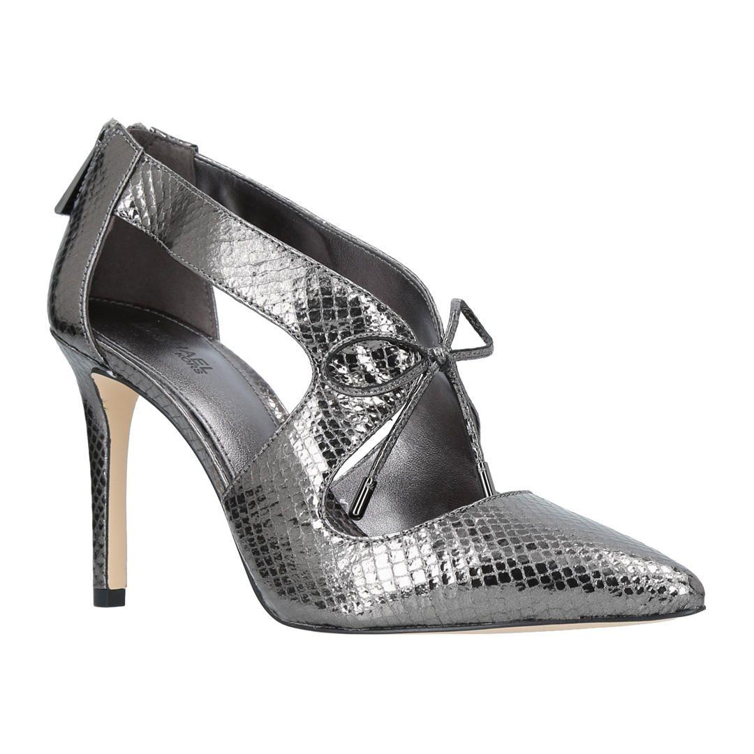 57244e54d82 BuyMICHAEL Michael Kors Romee Tie Stiletto Heel Court Shoes ...