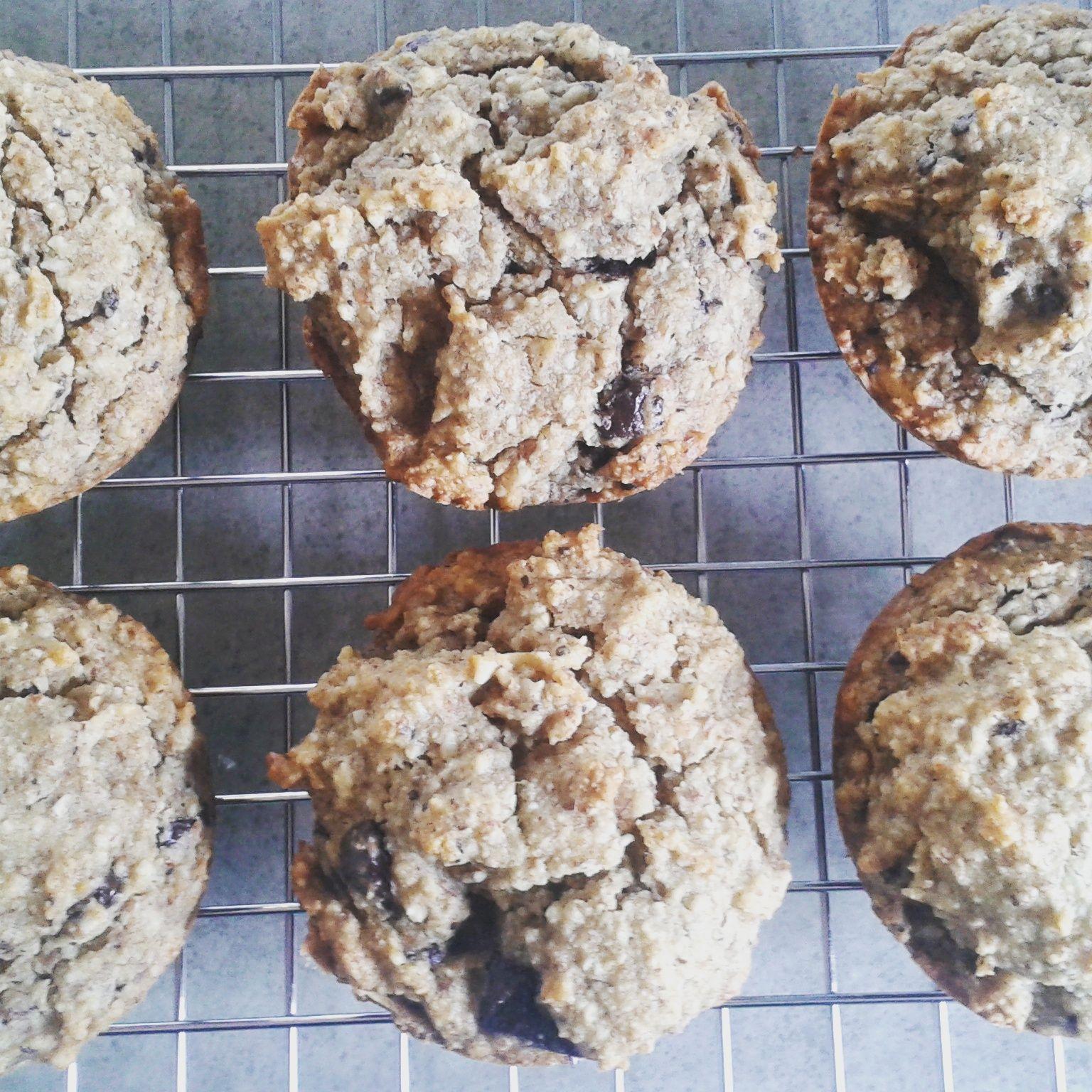 Banana Choc Chip Muffin - sugar free, grain free – The Big Lunchbox Revolution