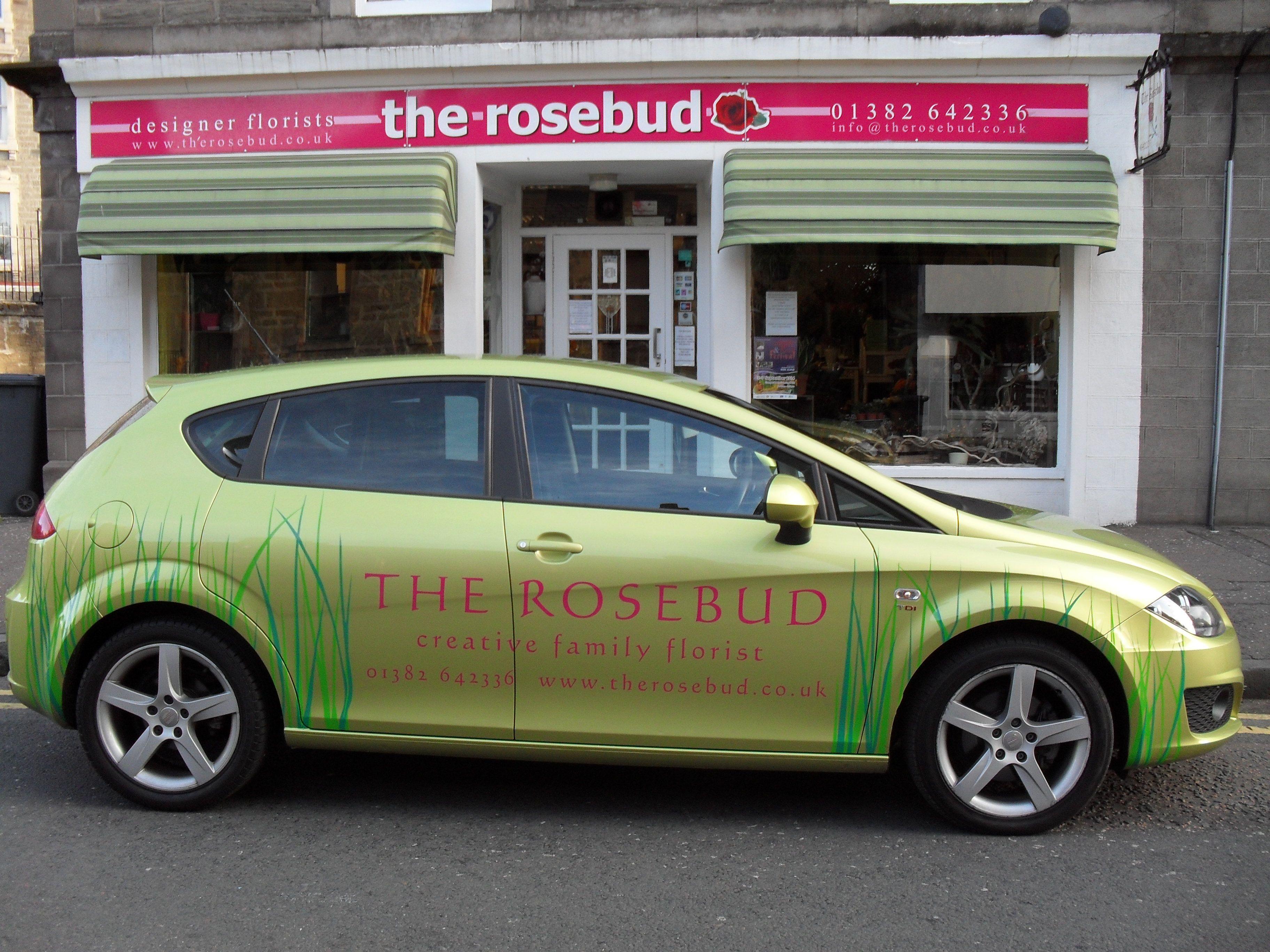 The rosebud in Angus Angus The Rosebud Flower Shop Dundee