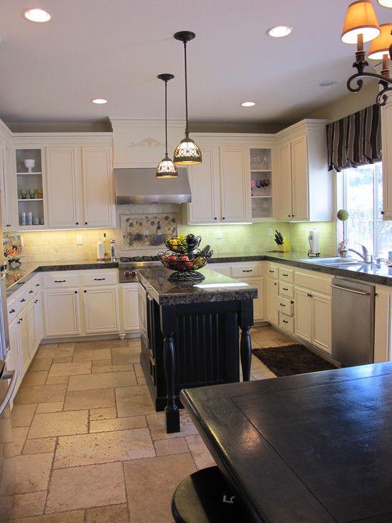 9+ Kitchen Flooring Ideas | Pinterest | Tile floor designs, Grey ...