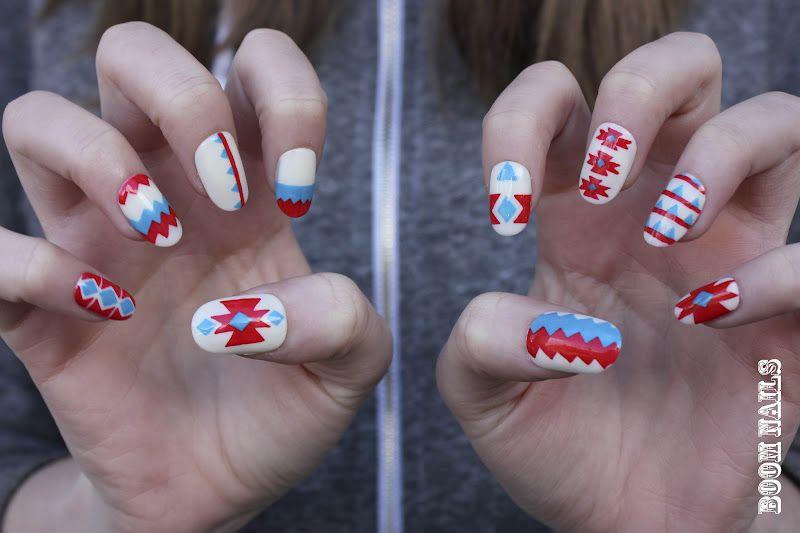 Rita Ora video inspired nail art