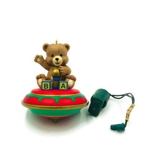 Noma Christmas Decorations: Vintage Noma Christmas Ornament Bear And Blocks #Noma