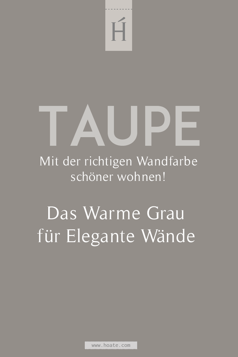 Photo of What wall color? Taupe: The trend wall color 2019 & 2020   HOATÉ