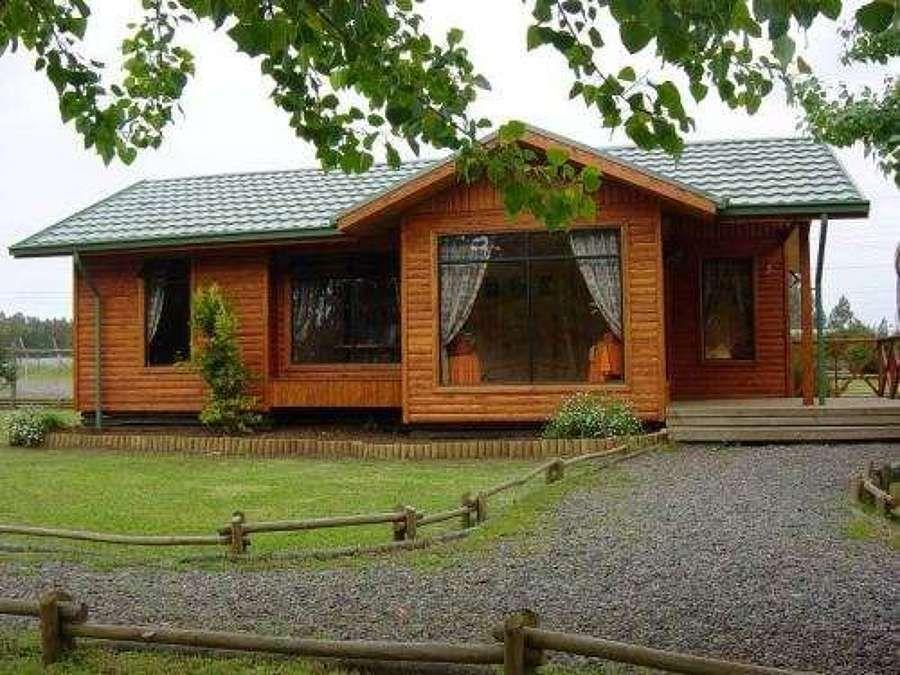 Casas en el bosque buscar con google mis casas - Decoracion de casas prefabricadas pequenas ...