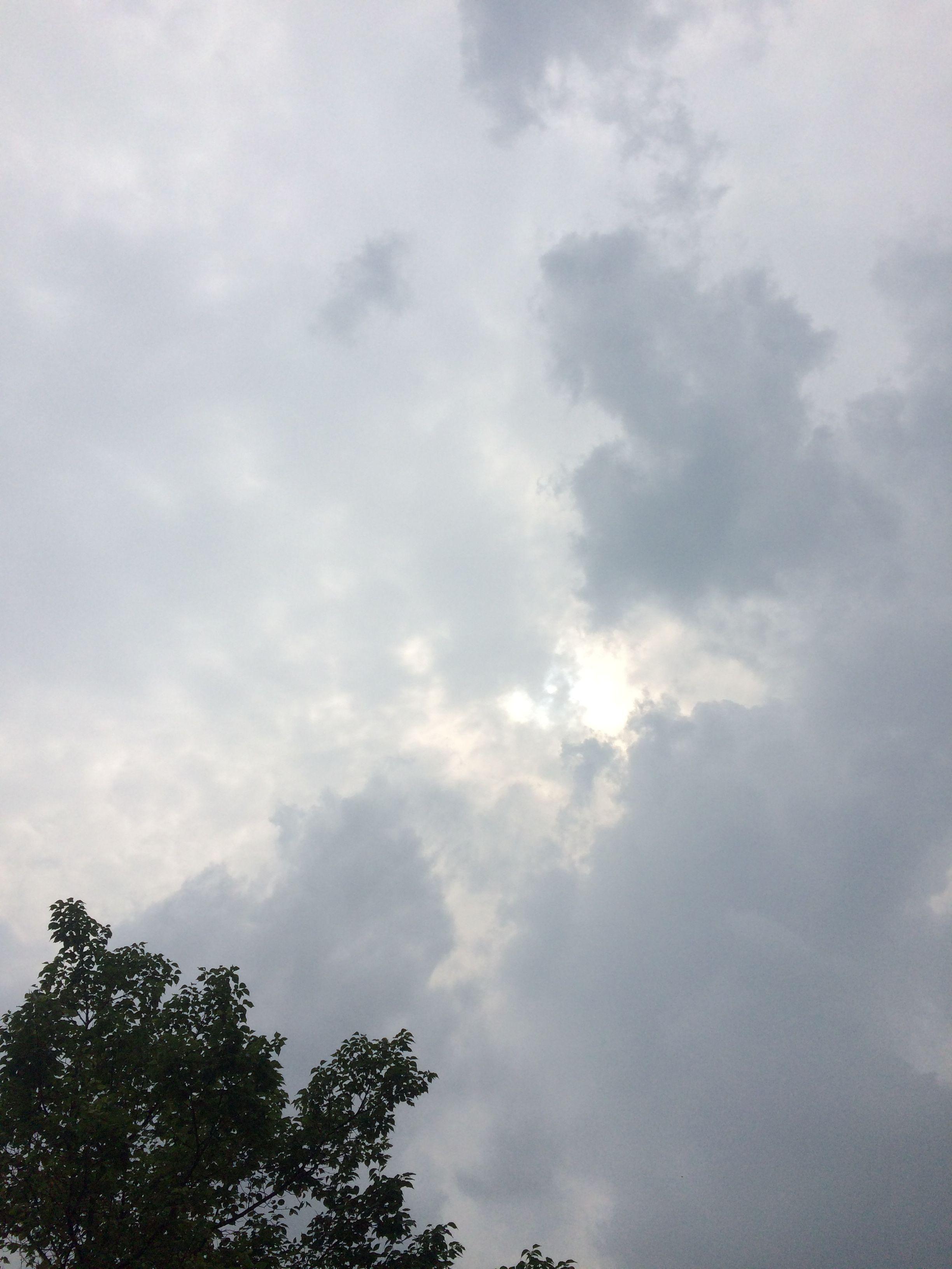 2018년 6월 30일의 하늘 sky cloud sun 하늘