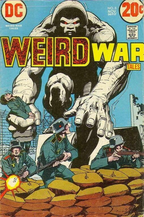 Weird War Tales #8