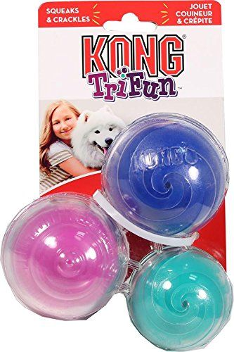Kong Trifun Triangle Dog Toy Large Click Image For More Details
