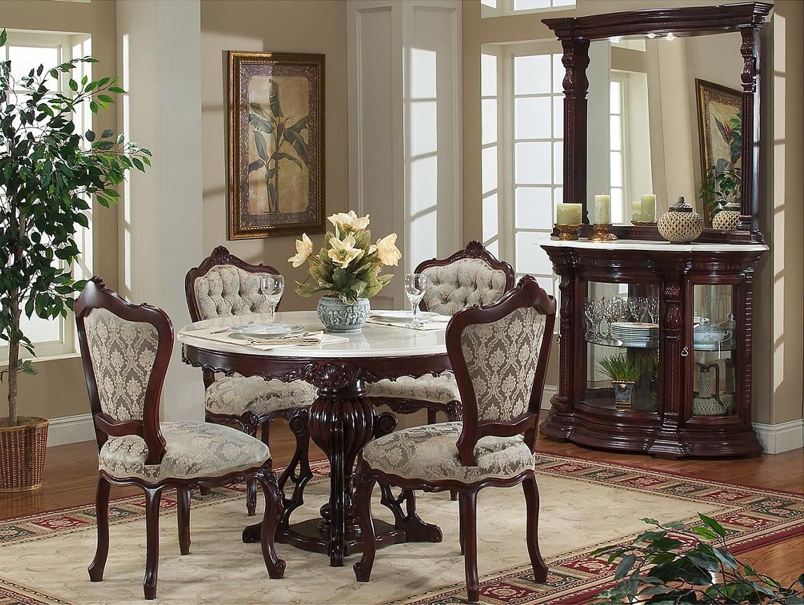Antique victorian dining chairs - Victorian Dinette Set 752 Victorian Furniture
